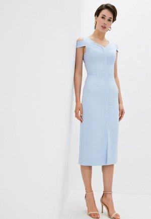 Платье Kira Plastinina. Цвет: голубой
