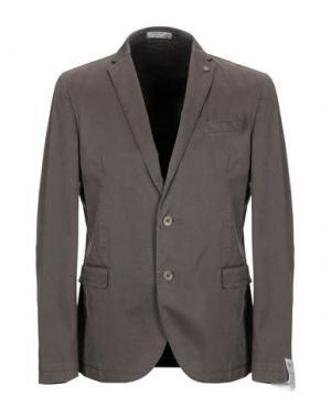 Пиджак MANUEL RITZ WHITE. Цвет: коричневый