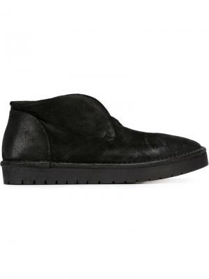 Ботинки дезерты без шнуровки Marsèll. Цвет: черный