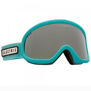 Маска сноубордическая Charger Electric. Цвет: бирюзовый