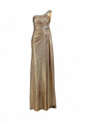 Платье Corleone. Цвет: золотой