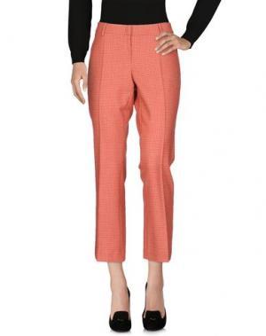 Повседневные брюки A.B.. Цвет: красный
