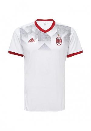 Футболка спортивная adidas ACM H PRESHI. Цвет: белый