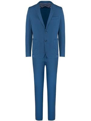 Хлопковый костюм Jerry Key. Цвет: синий