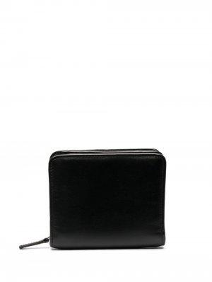 Маленький кошелек на молнии Ann Demeulemeester. Цвет: черный