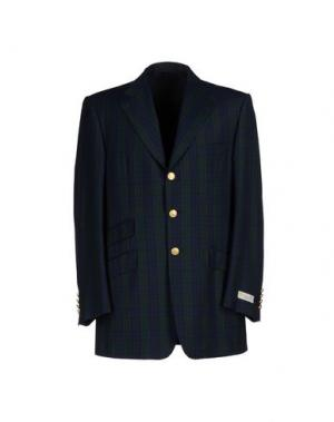 Пиджак AQUASCUTUM. Цвет: темно-зеленый