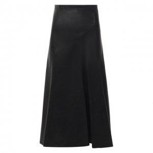Кожаная юбка Isabel Marant. Цвет: чёрный