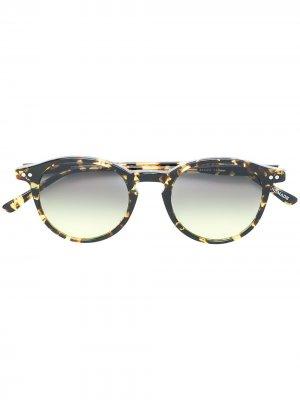 Солнцезащитные очки Castore Epos. Цвет: коричневый