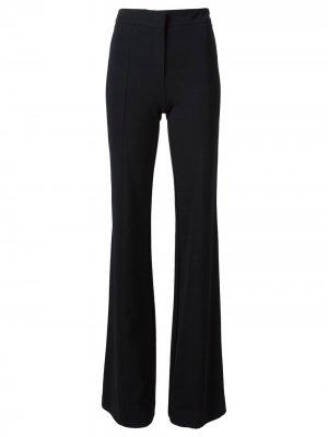 Расклешенные брюки Derek Lam. Цвет: черный