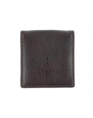 Кошелек для монет ICEBERG. Цвет: темно-коричневый