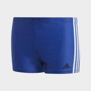 Плавки-боксеры 3-Stripes Performance adidas. Цвет: белый