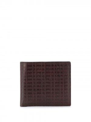 Бумажник Taccuino Ermenegildo Zegna. Цвет: красный