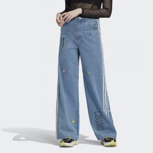 Джинсовые брюки Originals adidas. Цвет: none