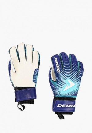 Перчатки вратарские Demix. Цвет: разноцветный