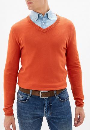 Джемпер Sisley. Цвет: оранжевый