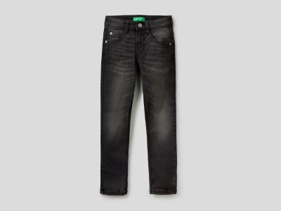 Джинсы Skinny fit Benetton. Цвет: черный