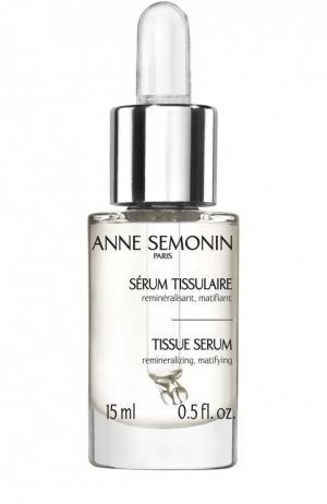Увлажняющая сыворотка, повышающая упругость кожи Anne Semonin. Цвет: бесцветный