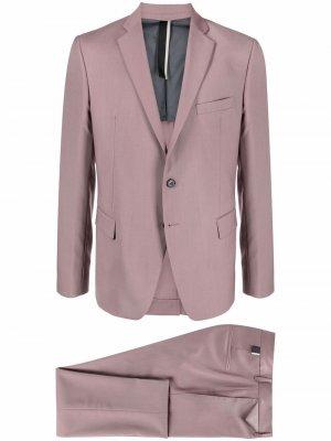 Костюм с однобортным пиджаком Low Brand. Цвет: розовый