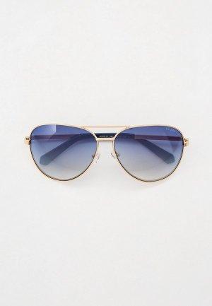 Очки солнцезащитные Guess. Цвет: золотой