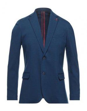 Пиджак MULISH. Цвет: синий