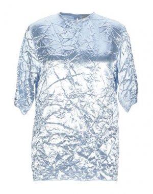 Блузка NINA RICCI. Цвет: небесно-голубой