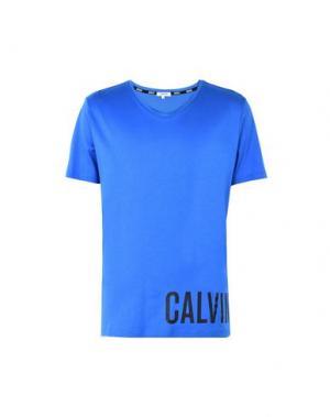 Футболка CALVIN KLEIN. Цвет: ярко-синий