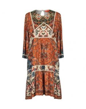 Короткое платье ALBA CONDE. Цвет: оранжевый
