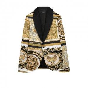 Пиджак Versace. Цвет: разноцветный