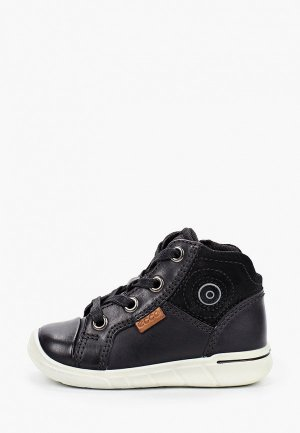 Ботинки Ecco FIRST. Цвет: черный