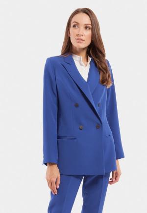 Пиджак Vladi Collection. Цвет: синий