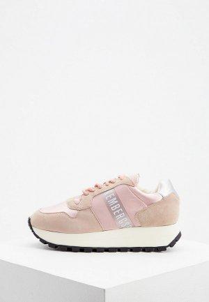Кроссовки Bikkembergs. Цвет: розовый