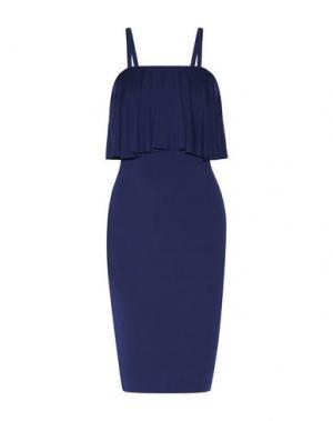 Короткое платье BAILEY 44. Цвет: синий