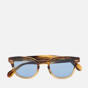 Солнцезащитные очки Sheldrake Sun Oliver Peoples. Цвет: коричневый