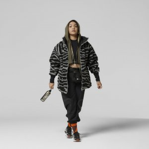 Куртка by Stella McCartney adidas. Цвет: серый