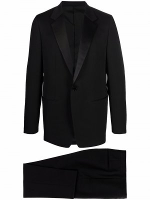 Строгий костюм с однобортным пиджаком Jil Sander. Цвет: черный