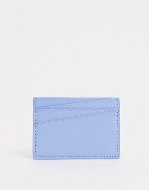 Голубой кошелек для карт -Синий Monki