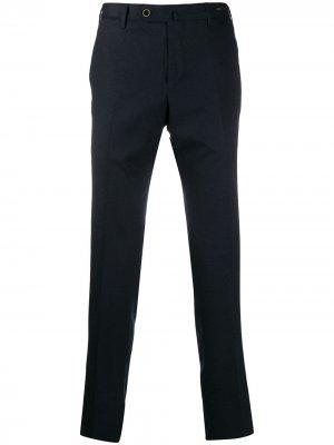Классические брюки прямого кроя Pt01. Цвет: синий