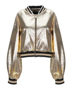 Куртка JIJIL. Цвет: золотистый