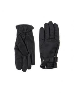 Перчатки TRU TRUSSARDI. Цвет: черный