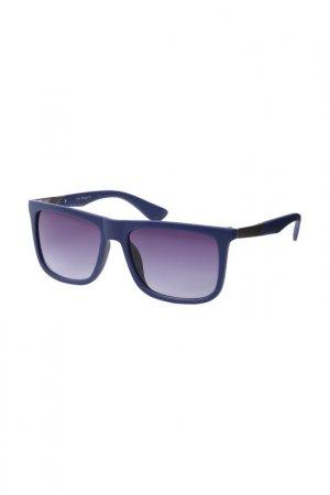 Очки солнцезащитные Fabretti. Цвет: синий