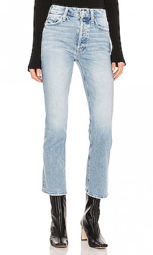 Широкие брюки tripper MOTHER. Цвет: синий