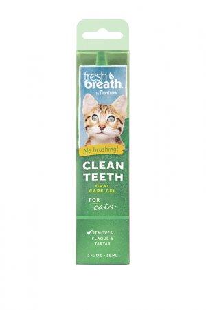 Гель для чистки зубов TROPICLEAN. Цвет: белый