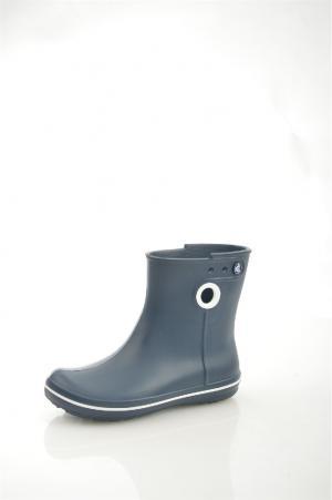 Резиновые полусапоги Crocs. Цвет: темно-синий