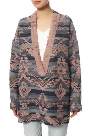 Пуловер MAISON ESVE. Цвет: мультиколор