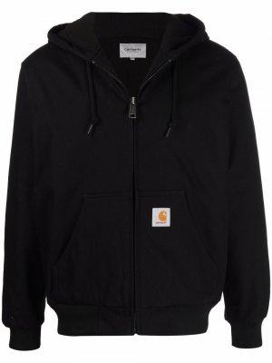 Куртка с капюшоном и нашивкой-логотипом Carhartt WIP. Цвет: черный