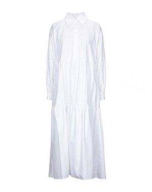 Длинное платье ATTIC AND BARN. Цвет: белый