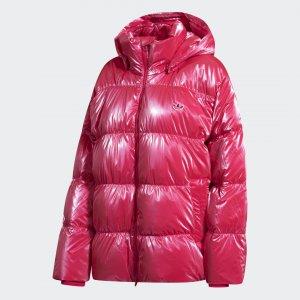Пуховик Oversize Originals adidas. Цвет: розовый