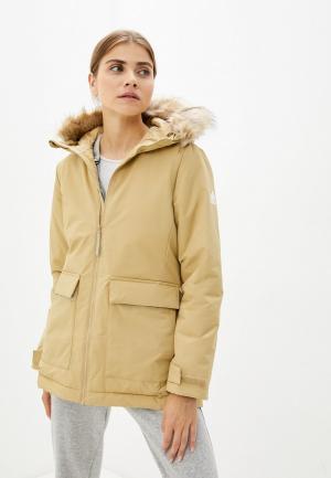 Куртка утепленная adidas W UTILITAS HO P. Цвет: бежевый