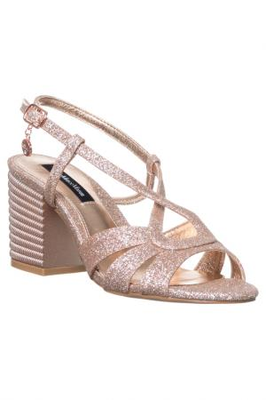 High heels sandals GianMarco Venturi. Цвет: pink