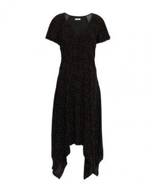 Платье до колена JOIE. Цвет: черный